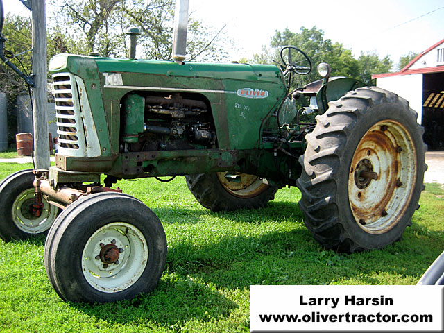 Oliver 770 3 Point Hitch : Larry harsin s oliver tractors for sale page